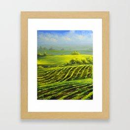 Barossa valley Framed Art Print