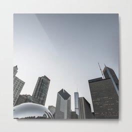 chicago skyline Metal Print