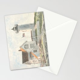 Cape Neddick Lighthouse (Nubble Light) - York, Maine Stationery Cards