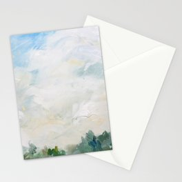 original vintage landscape painting number 12 Stationery Cards