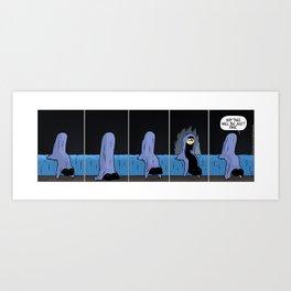 Peek-A-Boo  Art Print
