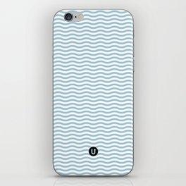 U12: postal blue iPhone Skin