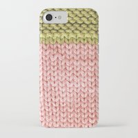 knit iPhone & iPod Cases featuring Knit by Melissa Jackson