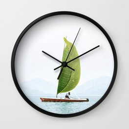 Spring is Coming Wall Clock