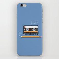 Old School Relationship iPhone & iPod Skin