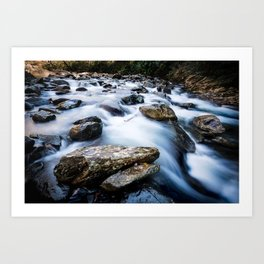 Take Me to the River - Rushing Rapids in the Great Smoky Mountains Art Print