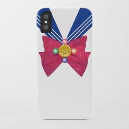 Galactic Sailor Moon Bow iPhone Case