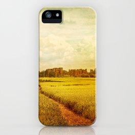Castle Walk iPhone Case