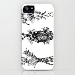 In Bloom - herbarium iPhone Case