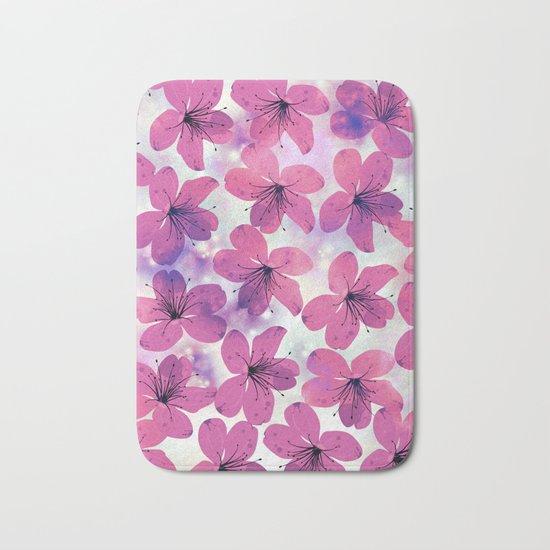 Floral Pattern B Bath Mat