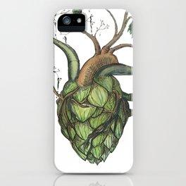 Hops Heart iPhone Case