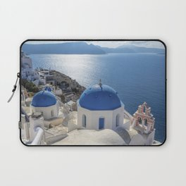 Santorini island in Greece Laptop Sleeve