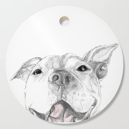 Whaddup :: A Pit Bull Smile Cutting Board