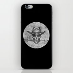 Dead Sheriff on dark iPhone Skin