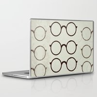 glasses Laptop & iPad Skins featuring (Glasses) by Mr and Mrs Quirynen