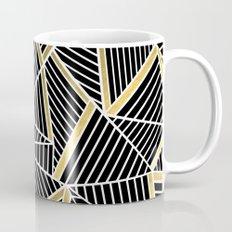 Ab Lines 2 Gold Coffee Mug