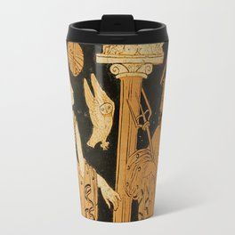 Athena and Poseidon Travel Mug
