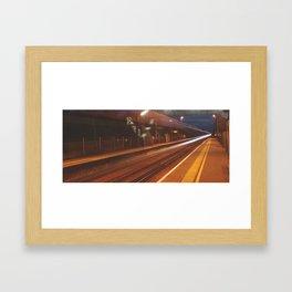 Midnight Train Framed Art Print