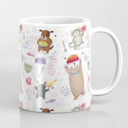 Bunny Dog Bear Cat Jello Treats Coffee Mug