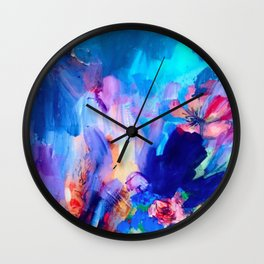 Wildflower Wall Clock