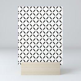 Good Fortune - Black on White Mini Art Print