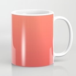 Tangerine Gradient Coffee Mug