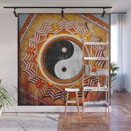 Yin Yang - Healing Of The Orange Chakra Wall Mural