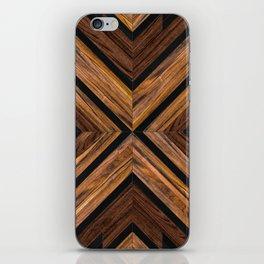 Urban Tribal Pattern 3 - Wood iPhone Skin