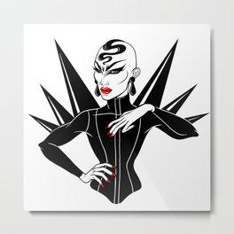 Sasha Velour, RuPaul's Drag Race Queen Metal Print
