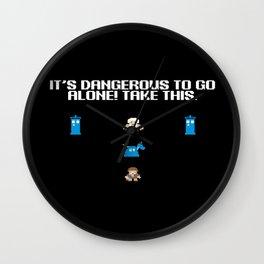 It's dangerous to go alone! Take K9. Wall Clock