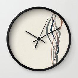 Conduits Earth Wall Clock