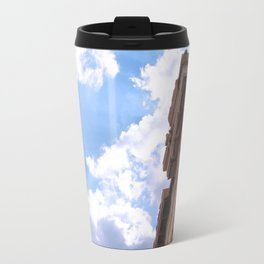 Sky above Parthenon Travel Mug