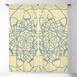 Mandala String Theory Blackout Curtain