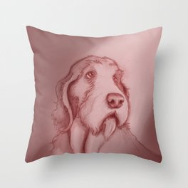 spinone italano Throw Pillow
