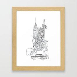 Newyorkers 2 Framed Art Print