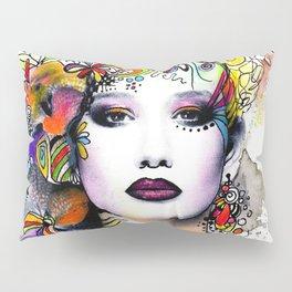 Fantasy Flower Girl Pillow Sham