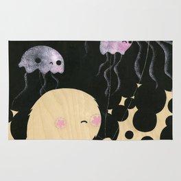 Jellyfish Wrangler Rug