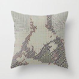 Digital expressionism 012 Throw Pillow