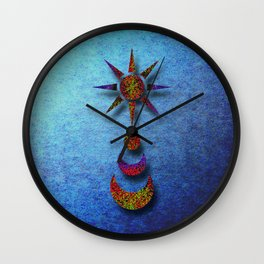 Celestial Singularity Wall Clock