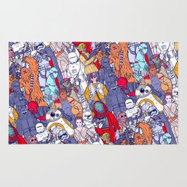 Smaller Space Toons in Color Rug