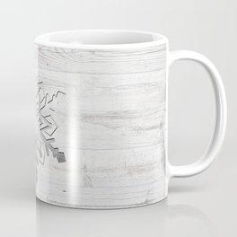 Snow in Silver Coffee Mug