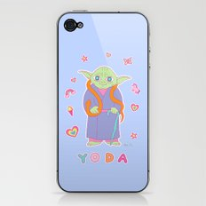 Yoda Sticker Magic iPhone & iPod Skin