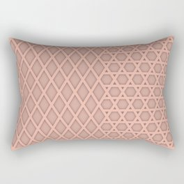 kicking it waffle style Rectangular Pillow