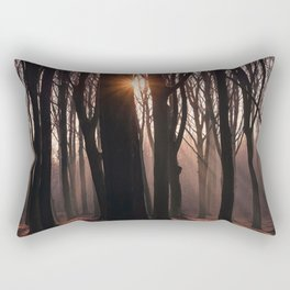 Up In The Woods Rectangular Pillow