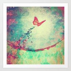 Waterfly II Art Print