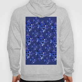 FACETED BLUE ON BLUE SAPPHIRE GEMSTONES Hoody