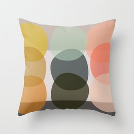 color game Throw Pillow