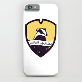Hufflepuff Motherfuckers! iPhone Case
