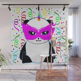 Pandacorn Carnival Wall Mural