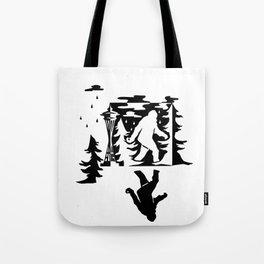 Seattle Sasquatch Tote Bag